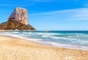 Бесплатная заставка пейзаж, море, пляж
