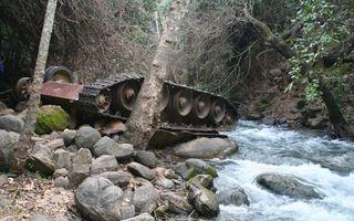 Фото бесплатно река, горная, камни