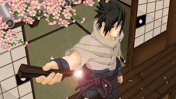 Фото бесплатно sasuke, uchiha, ninja