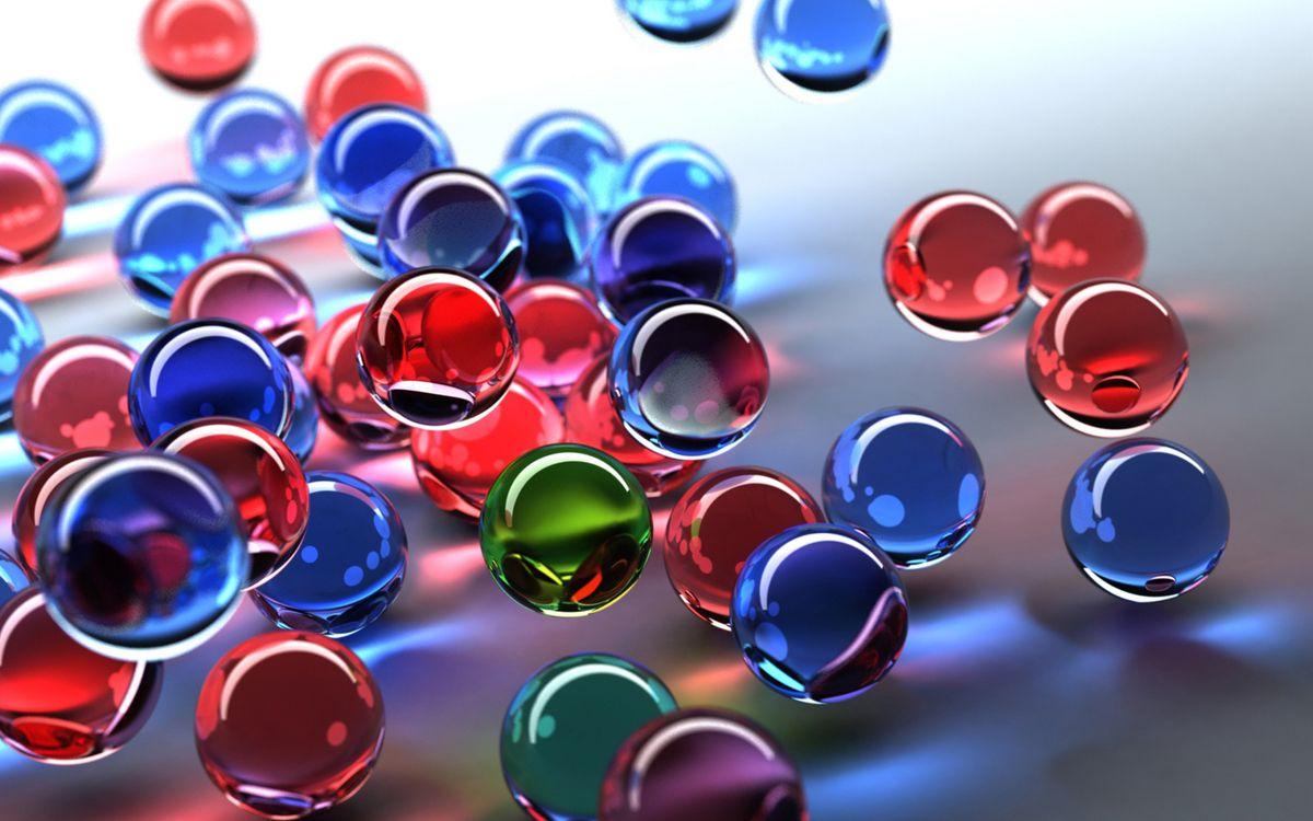 Фото бесплатно шарики, разные, цветные - на рабочий стол