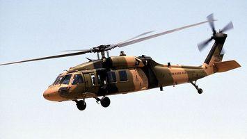 Фото бесплатно вертолет, хаки, шасси