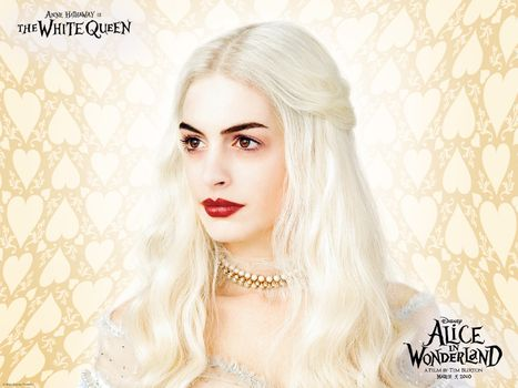 Фото бесплатно алиса, белая, королева