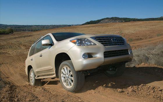 Бесплатные фото lexus,lx570,пустыня,внедорожник,машина,машины