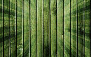 Заставки текстура,фон,зеленый,забор,лучи,доски,деревянный