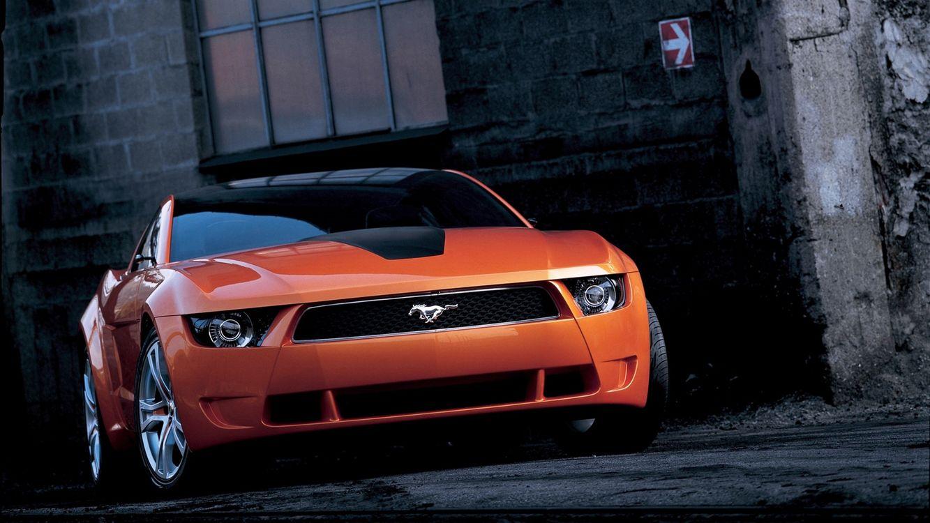 Free photo car, orange, wheels - to desktop
