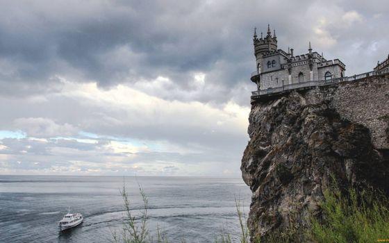 Фото бесплатно рок, Ласточкино гнездо, Крым