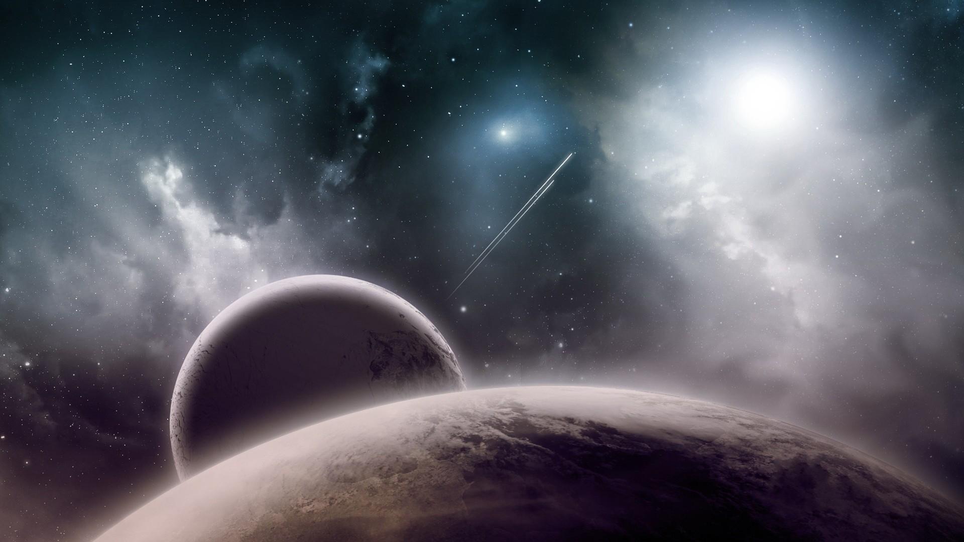 планеты, спутники, звезды