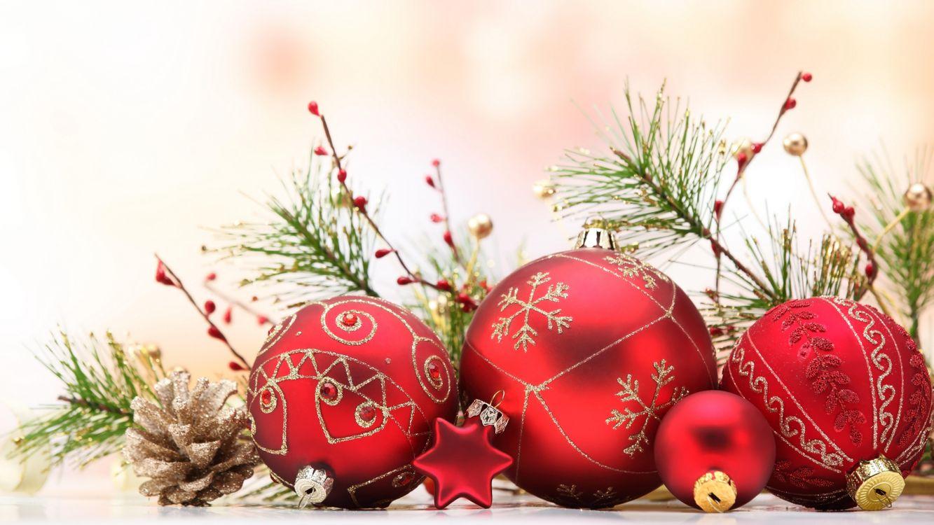 Красивая заставка новогодние обои, рождество