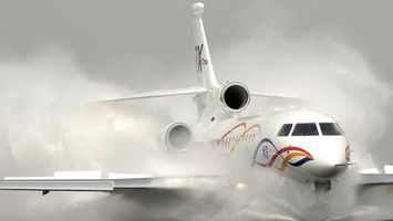 Посадка на воду пассажирского самолета