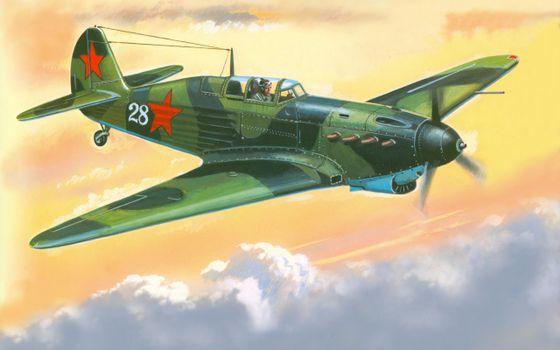 Photo free attack aircraft, flight, sky