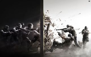 Фото бесплатно стена, бойцы, схватка