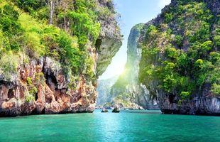 Фото бесплатно таиланд, море, скалы