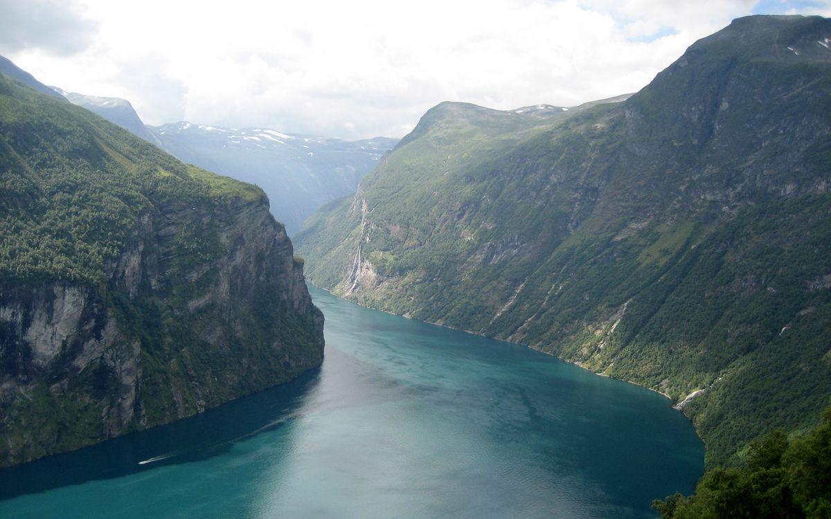 Фото бесплатно скалы, река, трава - на рабочий стол