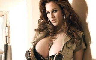 Фото бесплатно девушка, грудь, большая