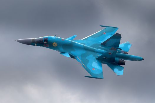 Photo free bomber, su-34, aviation