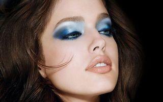 Заставки девушка, волосы, прическа, фото, модель, макияж, тени