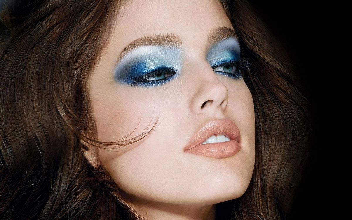 Фото бесплатно модель, макияж, девушки - на рабочий стол