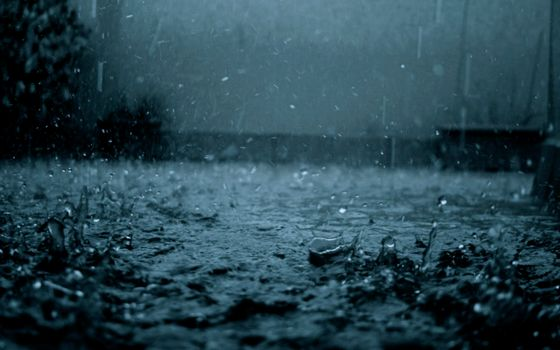 Заставки дождь, ливень, лужи