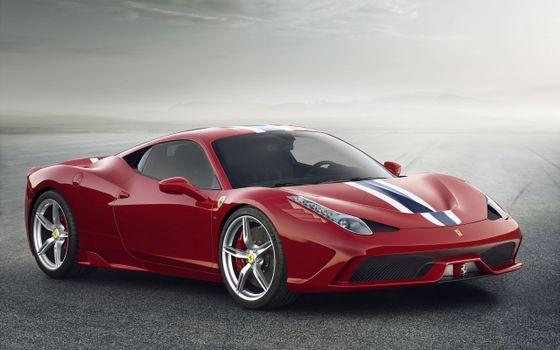 Photo free ferrari, red, aerodynamics