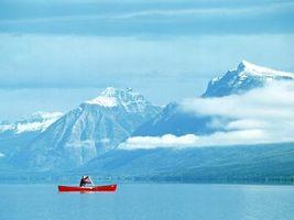Заставки горы, небо, облака, воздух, горизонт, вид, камни