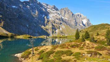 Фото бесплатно горизонт, горы, природа