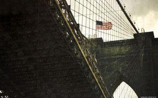 Фото бесплатно мост, сша, небо