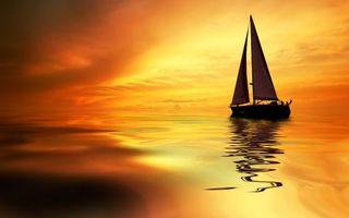 Бесплатные фото океан,море,закат,парус,лодка,люди,человек