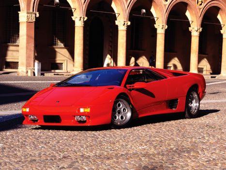 Фото бесплатно красный, колеса, диски