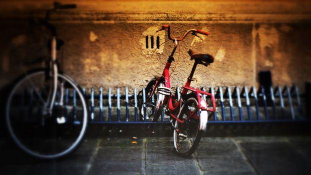Photo free bicycle, lock, wheel