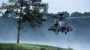 Фото бесплатно вертолет, военный, летит