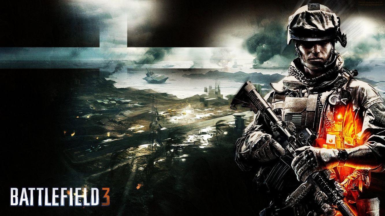 Фото бесплатно battlefield 3, автомат, игры, батл, разное