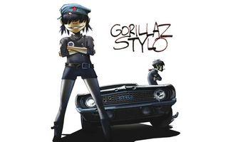 Бесплатные фото murdoc,музыка,машина,gorillaz,noodle,группа,stylo