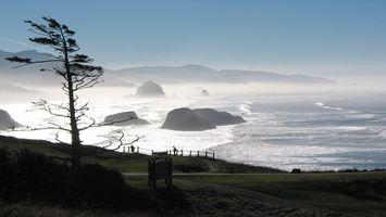 Бесплатные фото берег,волны,пляж,ветер,пейзажи