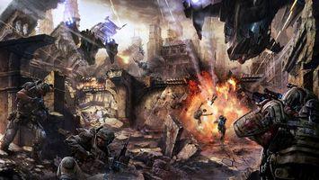Photo free war, skirmish, games