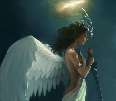 Заставки арт, франциско м ндез, крылья