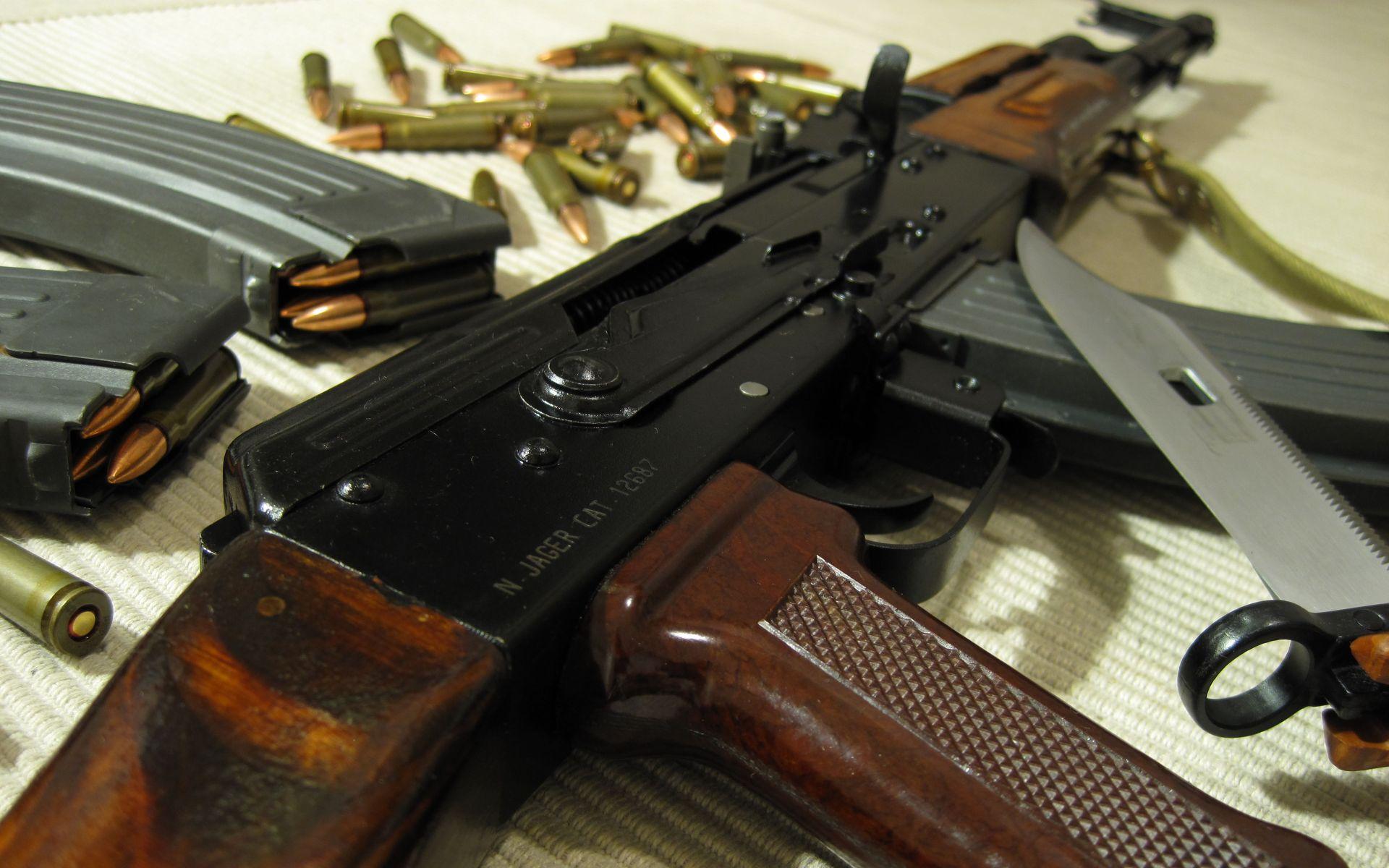автомат, ружье, гравировка