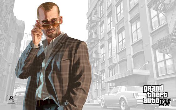 Фото бесплатно человек, очки, рубашка