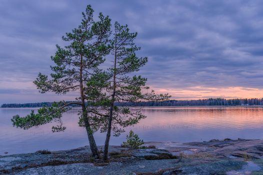 Фото бесплатно Природа, Швеция, закат