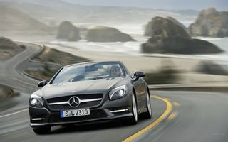 Photo free Mercedes, cabriolet, lights