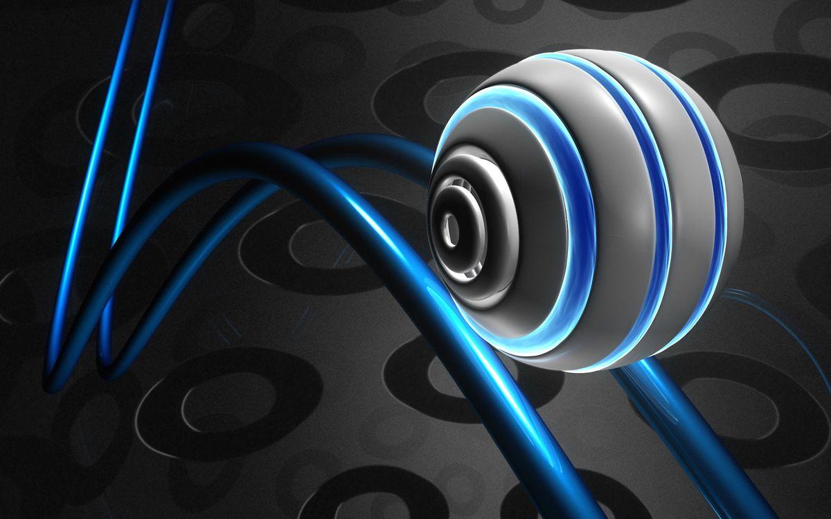 Фото бесплатно шар, круг, линии - на рабочий стол