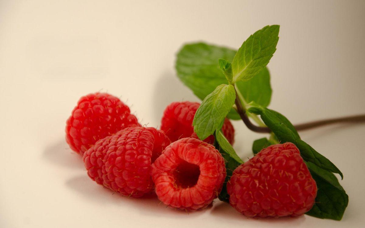 Фото бесплатно ягода, малина, красная - на рабочий стол