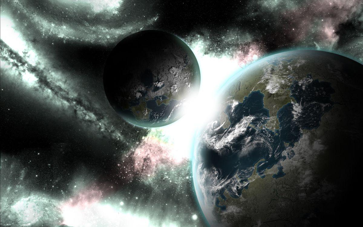 Фото бесплатно земля, планета, небо, звезды, вакуум, космос, космос