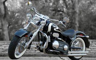 Бесплатные фото байк,мотоцикл,старый,раритет,отличное состояние,черный,разное