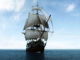 Бесплатные фото судно,парусник,паруса,океан,путешествие,разное