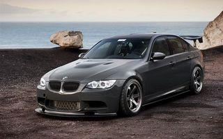 Photo free sedan, bumper, BMW 3