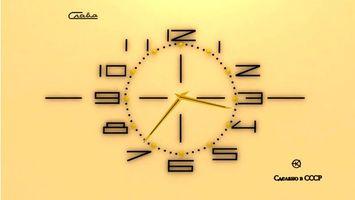 Обои часы, настенные, циферблат, стрелки, время, секунды, цифры, числа, фон, ссср слава, разное, стиль
