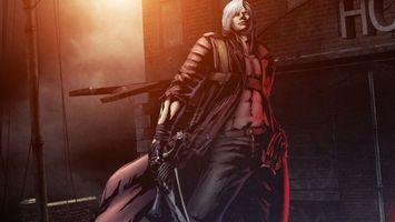 Бесплатные фото человек,меч,здание,улица,волосы,ночь,аниме