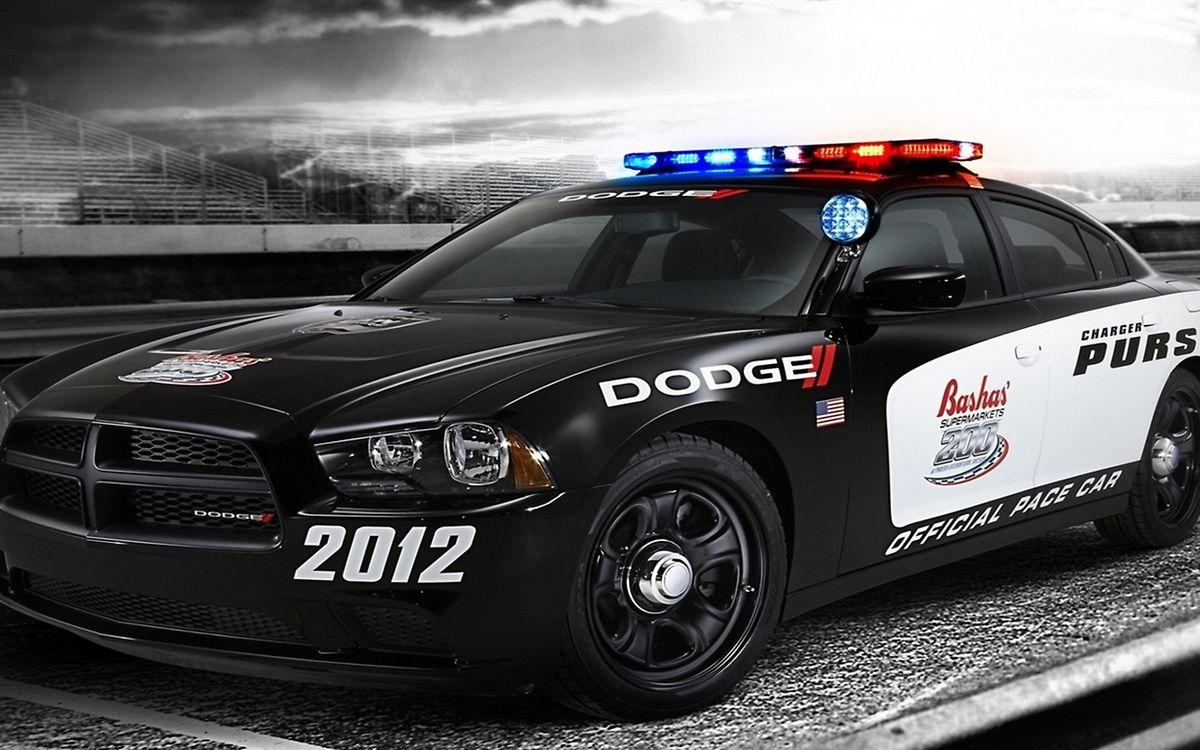 Фото бесплатно dodge, полиция, дорога - на рабочий стол