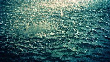 Фото бесплатно дождь, река, брызги