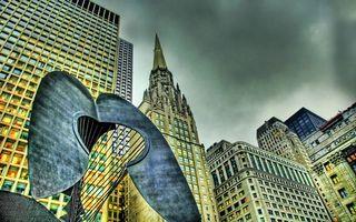 Бесплатные фото дома,высотки,окна,этажи,улица,памятник,скульптура